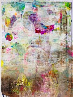 """""""Every Life Has a Story!"""" - {Roben-Marie Smith} Magic happens when you digitally combine prints made with the Gelli Arts Gel Printing Plate!"""
