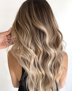 A blonde balayage for the ages— neutral light brown root shade fading into the. A blonde balayage Hair Color Balayage, Hair Highlights, Balyage Hair, Natural Blonde Balayage, Blonde Balayage On Brown Hair, Baylage Blonde, Neutral Blonde Hair, Light Brown Highlights, Honey Balayage