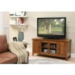 Acme Furniture - Christella Glass Door TV Stand in Oak Finish - 10342   SPECIAL PRICE: $472.78