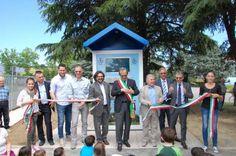 Inaugurazione della Casa dell'Acqua di Meldola, presso il parcheggio dell'Istituzione Davide Drudi. #casadellacqua #meldola #acqua #ambiente #sostenibilità