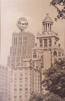 old gulf oil building houston - Google Search