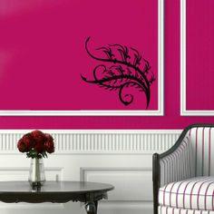 Wall Vinyl Decal Sticker Art Design Abstract Floral Pattern Ornament Room Nice Picture Decor Hall Wall Chu656 Thumbs up decals http://www.amazon.com/dp/B00J9RHL66/ref=cm_sw_r_pi_dp_jzSItb0YRDYNJNRF