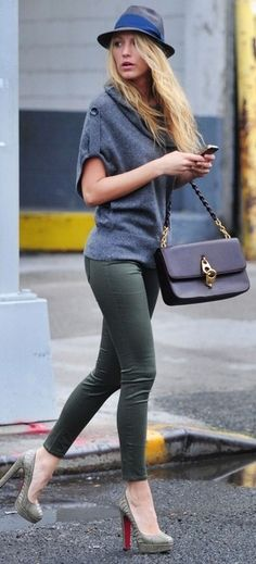 Blake's street style ♥✤ | Keep the Glamour | BeStayBeautiful