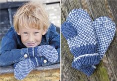 Sticka vantar till barn med årets finaste mönster. Knitting For Kids, Baby Knitting, Knitted Baby, Baby Barn, Knit Mittens, Fingerless Gloves, Arm Warmers, Knitting Patterns, Knit Crochet