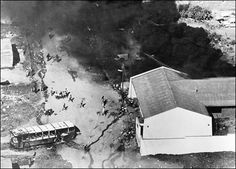 Soweto Uprising 1976 Image Gallery: Aerial view of Soweto Uprising - June 1976 News South Africa, Youth Day South Africa, Black History Books, By Any Means Necessary, Apartheid, Reality Of Life, June 16, Time Magazine, My Land