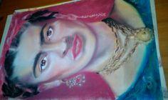 Frida kahlo pastel