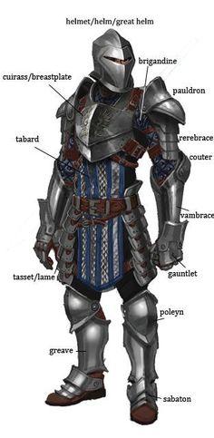Grey Warden armor from Dragon Age. Armadura Medieval, Medieval Armor, Medieval Fantasy, Armor Concept, Concept Art, Costume Chevalier, Grey Warden, Dragon Age 2, Templer