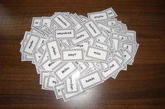 Kartičky na precvičovanie vybraných slov, s ktorými sa ich naučíte rýchlo a…