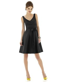 Alfred Sung Style D624 http://www.dessy.com/dresses/bridesmaid/d624/?color=black&colorid=123#.UmSJIhCcwsM