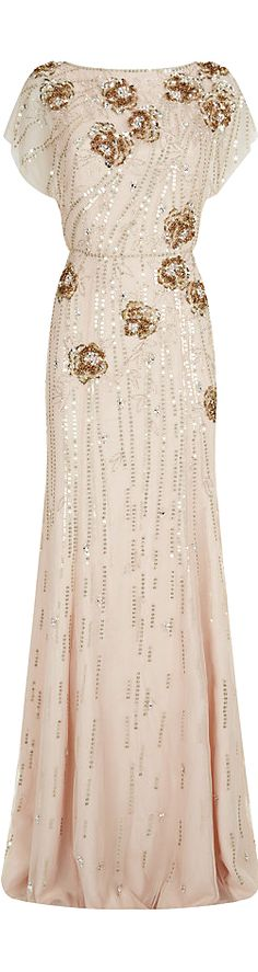 Jenny Packham ● Embellished Gown OMG if I wasn't pregnant I would be wearing this!!