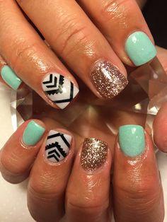 Black | Aztec Mega Pack Decal Aztec Nail Art Decals | Aztec Nails | Aztec Nail Art | Tribal Print Nails | Nail Art | Nail Decals  Shop Nail Decals @ weloveglitterdesign.com