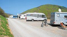 Park, Logs, Recreational Vehicles, Campsite, Road Trip Destinations, Adventure, Destinations, Viajes, Parks