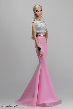 New outfit for Fashion Royalty / FR 12 '' Pink '' | www.ebay… | Flickr
