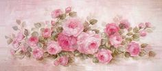 Rhapsody in Roses Canvas Print by Debi Coules