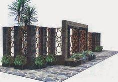 Image Design New Modern Minimalist Fence Houses 2015 Wood Design, Modern Design, Wall Pannels, Boundry Wall, House Fence Design, Backyard Fences, Modern Minimalist, Building A House, Architecture Design