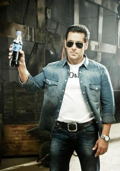Salman Khan's Thums Up Ad shoot #Bollywood #Fashion