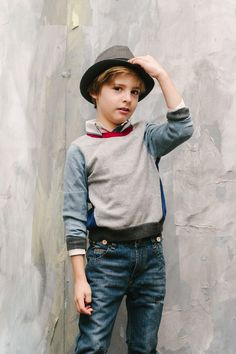 Vierra Rose Lucien Boys Sweater