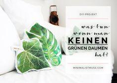 """DIY-Projekt: Was tun wenn man keinen """"grünen-Daumen"""" hat? Teil1 by minimalistmuss.com"""