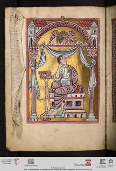 Oxford, Bodleian Library, MS. Douce 292: Oxford, Bodleian Library, MS. Douce 292 Evangeliarium (unvollständig) (Lorsch (?) oder Lüttich (?),...