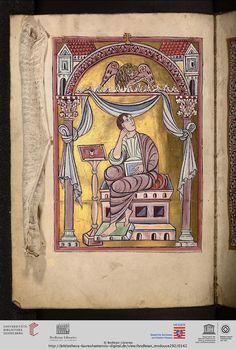 Oxford, Bodleian Library, MS. Douce 292: Oxford, Bodleian Library, MS. Douce 292 Evangeliarium (unvollständig) (Lorsch (?) oder Lüttich (?),...