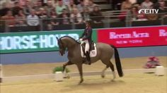 Charlotte Dujardin (GBR) and Valegro beat their own World Record in the Grand Prix Freestyle last night during a thrilling Reem Acra FEI World Cup™ competiti...