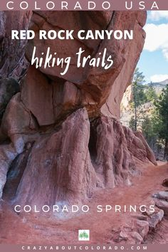 Red Rock Canyon Open Space, Trails from Gentle to Heart-Pumping, Colorado Springs, CO USA Denver Colorado, Red Rocks Colorado, Canyon Colorado, Road Trip To Colorado, Colorado Hiking, Colorado Mountains, Colorado Springs Things To Do, Colorado Springs Hikes, Aspen