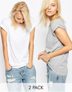 ASOS The Ultimate Easy T-Shirt 2 Pack SAVE 10%