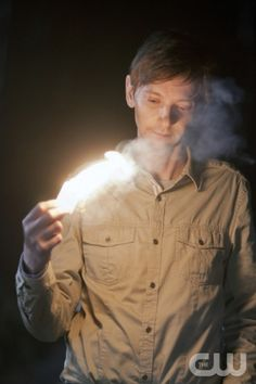 """Party On, Garth"" - DJ Qualls as Garth in SUPERNATURAL on The CW.  Photo: Jeff Weddell/The CW©2012 The CW Network, LLC. All Rights Reserved."