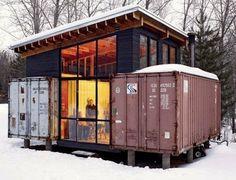 PRA VIAJAR NO COSMOS NÃO PRECISA GASOLINA!!!: Casa Container - Minnesota