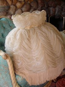 CORRABELLE ROSE: Beautiful French styled lamp shade.