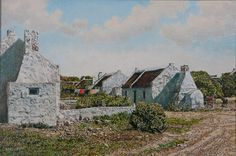 Artist image gallery - May 2010 - Waenhuiskrans Cottage Homes, Cottages, Art Reference, South Africa, Cape, Beautiful Places, Photos, Pictures, Houses