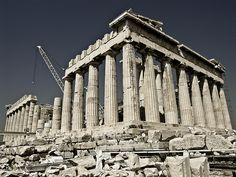 Parthenon, Athènes, Grèce.