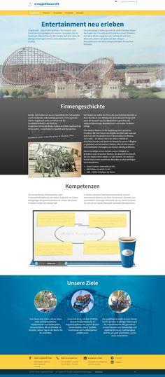 www.guenter-engelhardt.de Engelhardt – das Fachbüro für Freizeit- und Entertainmentanlagen mit Sitz in Hannover. Website Relaunch: Boostrap, HTML5, CSS3, CMS webEdition und wie immer mit ganz viel Herzblut.