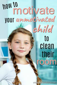 Clean bedroom motivation - what does it take to get a messy child to get organized?? Here's some tips. #Parenting #Organization #Cleaning #MiddleChild