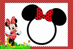 Free Minnie Mouse Invitation