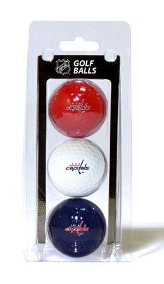 Washington Capitals Golf Balls 3 Pack