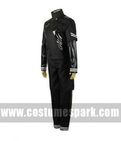 Anime Tokyo Ghoul season 2 cosplay costumes for men  Kaneki ken black combat uniform