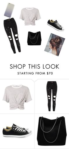 """casual look <3"" by j-y-post on Polyvore featuring mode, T By Alexander Wang, River Island, Converse, Gucci en Kate Spade"