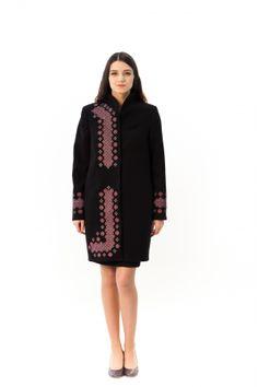 Демісезонне пальто «Каштан» High Neck Dress, Dresses For Work, Fashion, Turtleneck Dress, Moda, Fashion Styles, Fashion Illustrations, High Neckline Dress