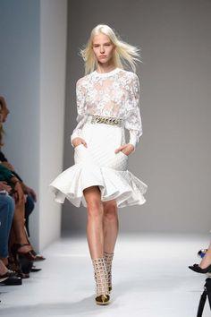 París Fashion Week SS 2014: Desfile de Balmain - Harper's Bazaar