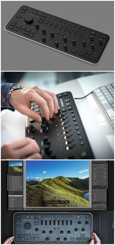 Loupedeck lets you use physical dials, knobs and buttons to edit your photos instead of using a mouse and keyboard. Affiliate.
