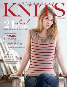 Interweave Knits Summer 2013 - 紫苏 - 紫苏的博客