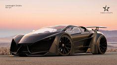 Lamborghini Sinistro Black Spec by mcmercslr.deviantart.com on @DeviantArt