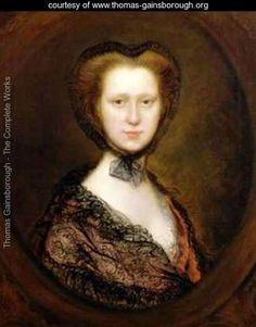 Lady Lucy Boyle 1744-92 Viscountess Torrington - Thomas Gainsborough