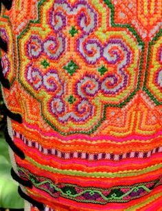 Hmong embroidered