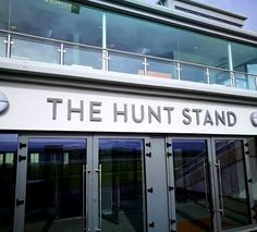 Punchestown Racecourse | Projects | CSS Signs Garage Doors, Signs, Outdoor Decor, Projects, Home Decor, Log Projects, Blue Prints, Decoration Home, Room Decor