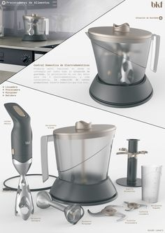 Kitchen Appliances on Industrial Design Served