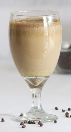 Batido de proteínas de café