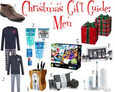 Christmas Gift Guide: Men