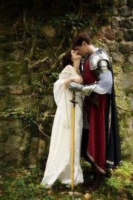 Medieval proposal - In the Middle Ages and many other eras, proposals were sealed by a kiss. After becoming engaged, you didn't break your word. In many senses, it was if you were married.